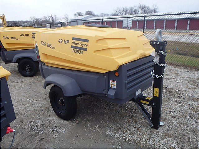 2014 ATLAS COPCO XAS185KD7 Photo