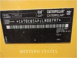 2013 CATERPILLAR CB54XW Photo #10
