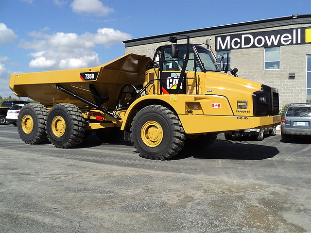 2014 CATERPILLAR 735B Photo
