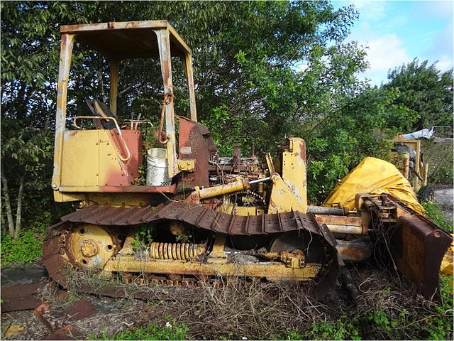 1989 CATERPILLAR D3C LGP Photo